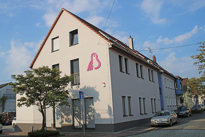 Wohn- und Bürogebäude, Alesinastraße, Frankfurt