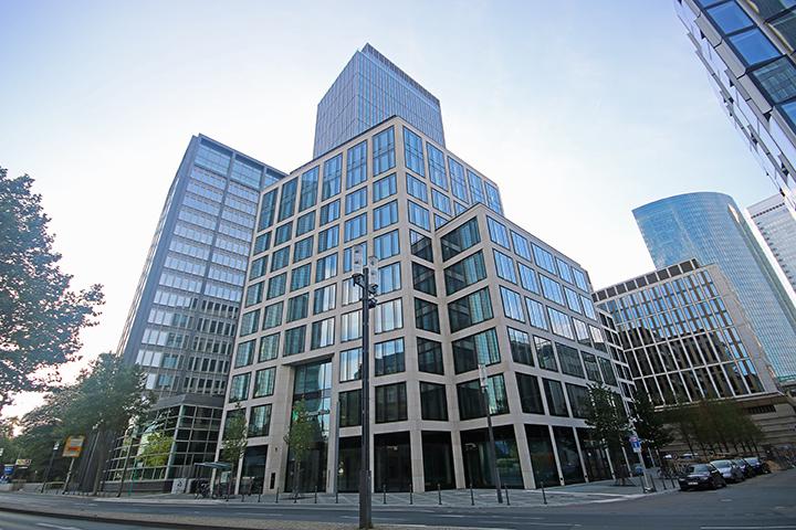 Bürogebäude Marienforum, Mainzer Landstraße, Frankfurt, Aufmaß gif-Mietflächen aus Planung für Vermietung, Frankfurt/Main